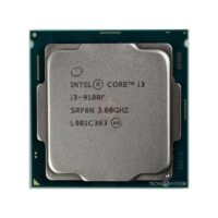 پردازنده مرکزی اینتل مدل Core i3-9100F