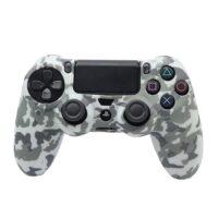 روکش گیم پد PS4 طرح چریکی سفید خاکستری