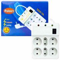 محافظ برق پالمر 6 خانه دارای کلید روشن و خاموش