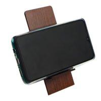 پایه نگه دارنده بزرگ چوبی مناسب برای موبایل