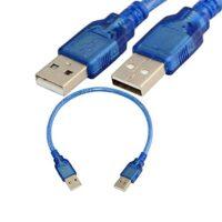 کابل لینک USB2.0 ( دو سر USB نری ) طول 30 سانتی متر