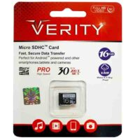 کارت حافظه Micro SDHC وریتی 16 گیگ کلاس 10