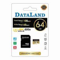 کارت حافظه دیتالند مدل 600x کلاس 10 ظرفیت 64 گیگابایت