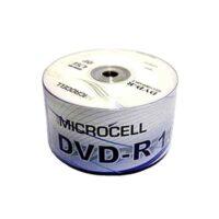 دی وی دی خام میکروسل مدل X50 بسته 50 عددی