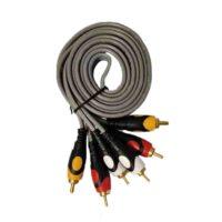 کابل RCA سه به سه 1.5 متری ضخیم مدل MTK