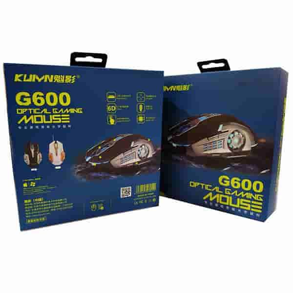موس گیمینگ KUIYN مدل G600