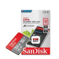 کارت حافظه microSDHC سن دیسک مدل A1 کلاس 10 ظرفیت 32 گیگابایت