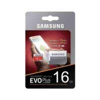 کارت حافظه microSDHC سامسونگ مدل Evo Plus کلاس 10 استاندارد UHS-I U1 سرعت 95MBps ظرفیت 16 گیگابایت